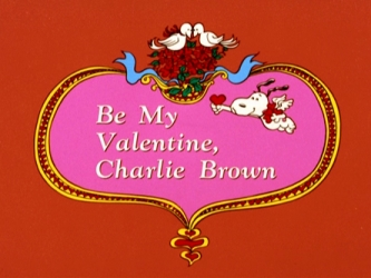 Be My Valentine, Charlie Brown tv show photo