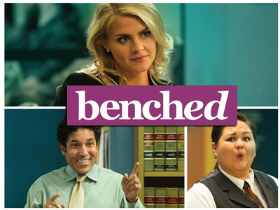 Benched tv show photo