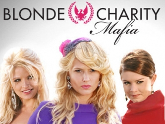 Blonde Charity Mafia tv show photo