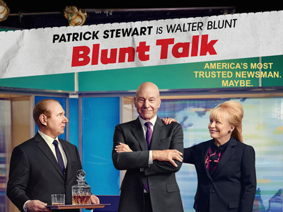 Blunt Talk tv show photo