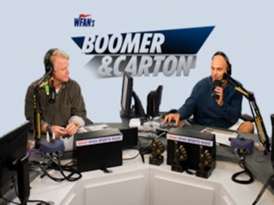 Boomer and Carton in the Morning