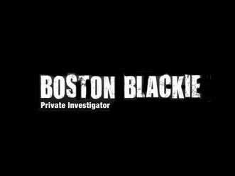 Boston Blackie tv show photo