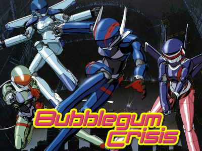 Bubblegum Crisis  tv show photo