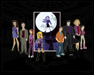 Buffy the Animated Series tv show photo