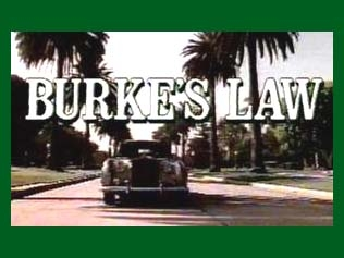 Burke's Law tv show photo