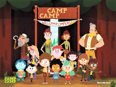Cameron Campbell - Camp Camp Characters - ShareTV