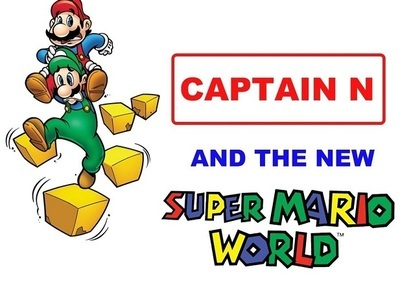 Captain N and the New Super Mario World tv show photo