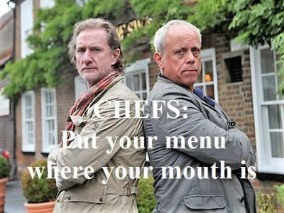 Chefs: Put Your Menu Where Your Mouth Is (UK)