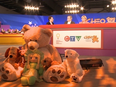 CHEO Telethon on CTV (CA)