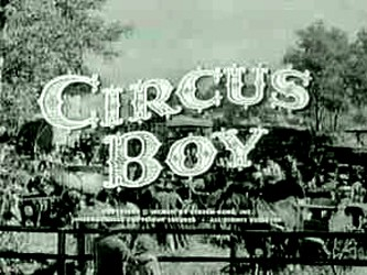 Circus Boy tv show photo