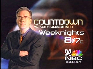 Countdown with Keith Olbermann tv show photo