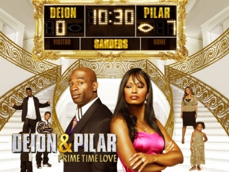 Deion and Pilar: Prime Time Love tv show photo