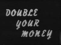 Double Your Money (UK) tv show photo