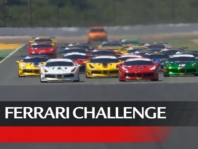 Ferrari Challenege tv show photo