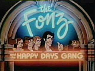Fonz and the Happy Days Gang tv show photo