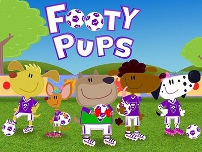 Footy Pups tv show photo