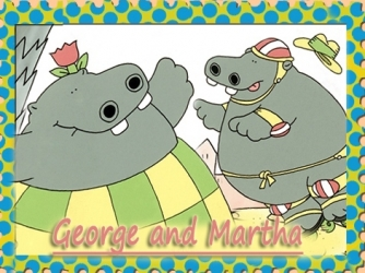 George and Martha tv show photo