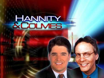 Hannity & Colmes tv show photo
