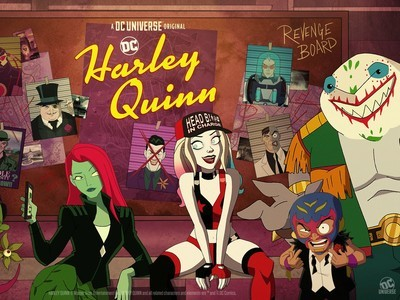 Harley Quinn tv show photo