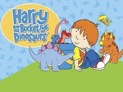 Harry and His Bucket Full of Dinosaurs (UK)