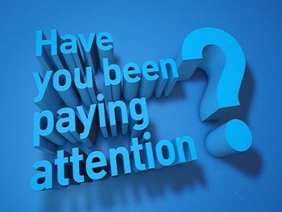 Have You Been Paying Attention? (AU)
