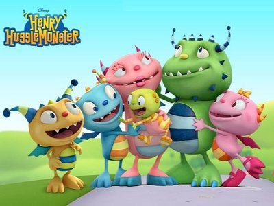 Henry Hugglemonster (UK) tv show photo