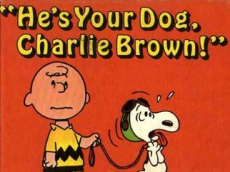He's Your Dog, Charlie Brown tv show photo