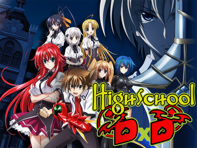Highschool DxD tv show photo