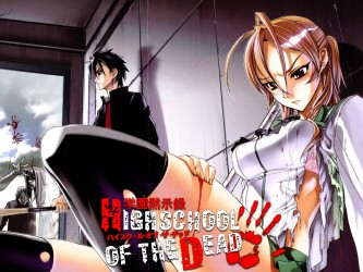Highschool of the Dead tv show photo