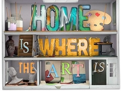Home Is Where the Art Is (UK) tv show photo