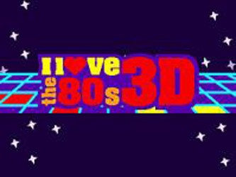 I Love the '80s: 3D tv show photo