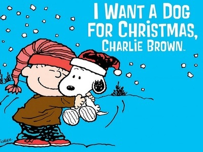 I Want a Dog for Christmas, Charlie Brown tv show photo