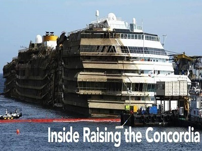 Inside Raising the Concordia