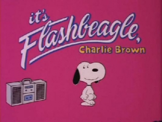 It's Flashbeagle, Charlie Brown tv show photo