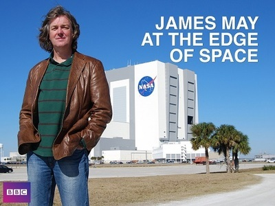 James May at the Edge of Space (UK) tv show photo