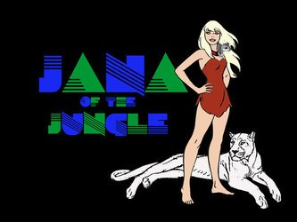 Jana of the Jungle tv show photo
