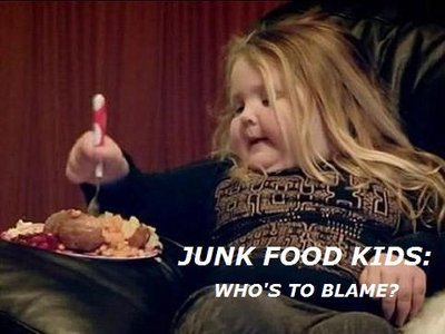 who was to blame food the Common childhood obesity -- the kind we usually blame on overindulgence and  inactivity -- also has a genetic component, an international.