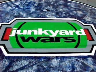 Junkyard Wars tv show photo