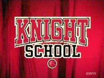 Knight School with Coach Bobby Knight tv show photo