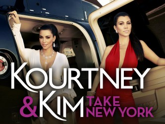 Kourtney and Kim Take New York tv show photo