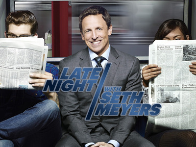 Late Night with Seth Meyers tv show photo