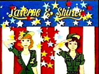 Laverne & Shirley in the Army tv show photo