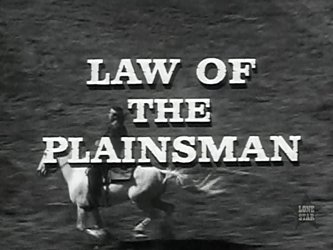 Law of the Plainsman tv show photo