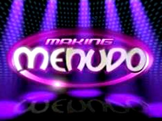 Making Menudo tv show photo