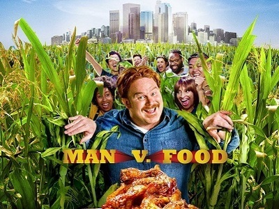 Man v. Food tv show photo