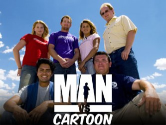 Man vs. Cartoon tv show photo