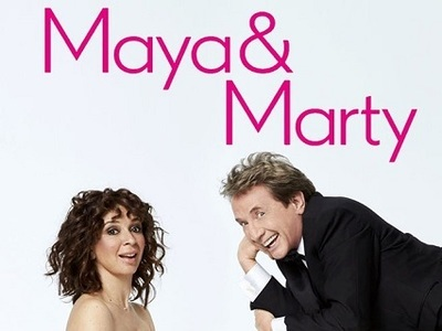 Maya & Marty tv show photo