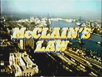 McClain's Law tv show photo