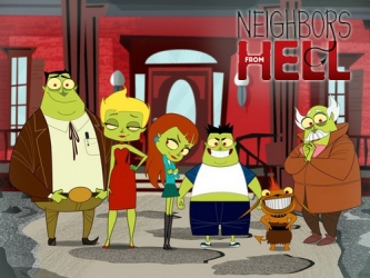 Neighbours From Hell tv show photo