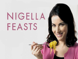 Nigella Feasts tv show photo